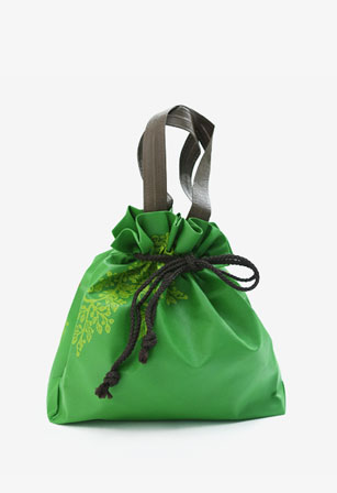 Standup Drawstring Handle Bag (T-Gusset)